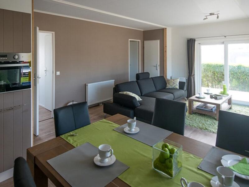 Uw vakantiehuis aan de Belgische kust. Chalet Normandic - www.seapromotion.be